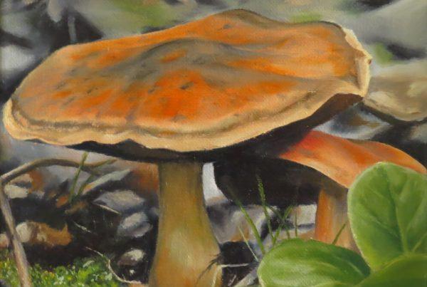 Chapeau d'automne - Artiste Peintre - Guylaine Ruel
