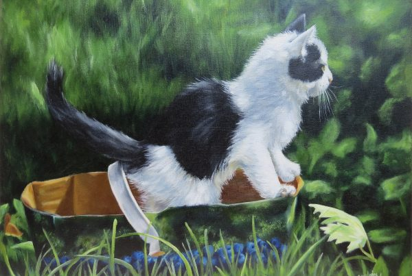 Plein le panier - Artiste Peintre - Guylaine Ruel