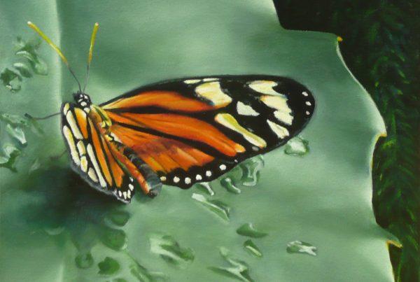 Le papillon - Artiste Peintre - Guylaine Ruel