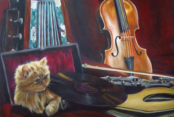 Pause musicale - Artiste Peintre - Guylaine Ruel