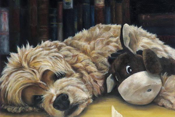 Je l'aime aussi - Artiste Peintre - Guylaine Ruel