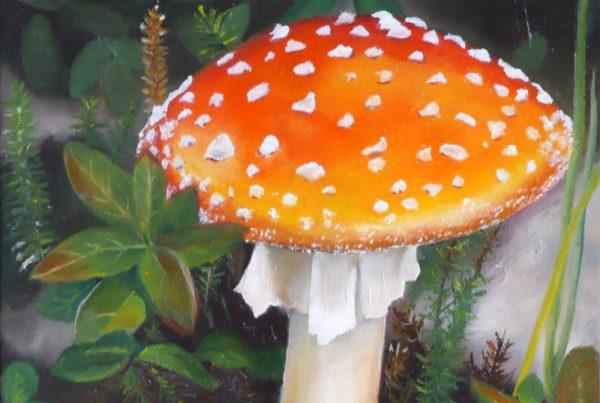 Amanite - Artiste Peintre - Guylaine Ruel