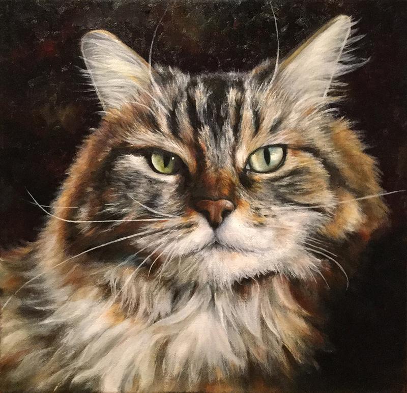 Joséphine - Artiste Peintre - Guylaine Ruel